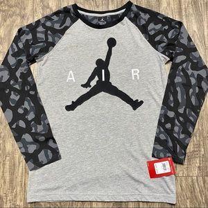 Nike Air Jordan long Sleeve Shirt NWT Jumpman XL